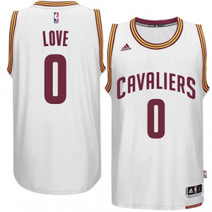 Kevin Love Cleveland Cavaliers adidas Player Swingman Home Jersey - White Home
