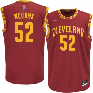 Mo Williams Cleveland Cavaliers adidas Replica Jersey - Wine