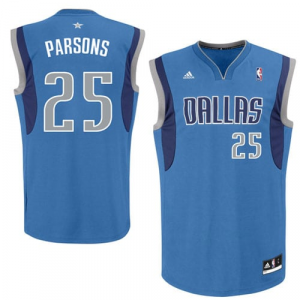 Chandler Parsons Dallas Mavericks adidas Replica Road Jersey - Royal Blue