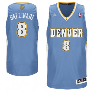 Danilo Gallinari Denver Nuggets adidas Swingman Road Jersey -