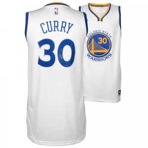 Stephen Curry Golden State Warriors Fanatics Authentic Autographed White Swingman Jersey