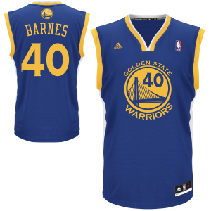 Harrison Barnes Golden State Warriors adidas Replica Road Jersey - Royal Blue