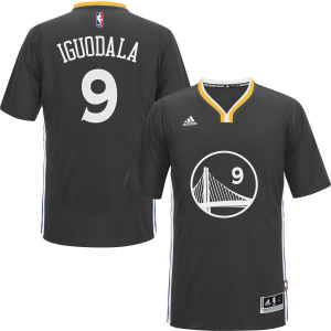 Andre Iguodala Golden State Warriors adidas Youth Boy's Replica Jersey - Slate