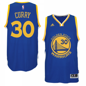 Stephen Curry Golden State Warriors adidas Player Swingman Road Jersey - Royal