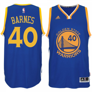 Harrison Barnes Golden State Warriors adidas Player Swingman Road Jersey - Royal