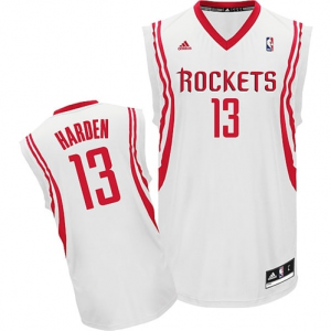 James Harden Houston Rockets adidas Youth Replica Home Jersey - White