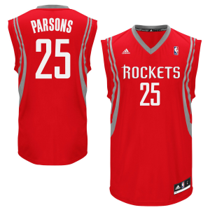 Chandler Parsons Houston Rockets adidas Replica Road Jersey - Red