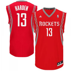 James Harden Houston Rockets adidas Replica Road Jersey - Red