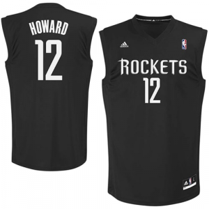 Dwight Howard Houston Rockets adidas Fashion Replica Jersey - Black