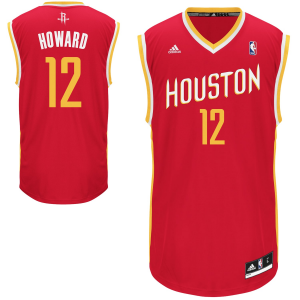 adidas Dwight Howard Houston Rockets Replica Player Jersey - Red