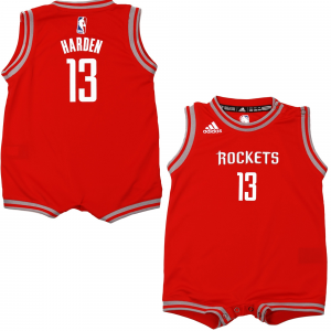 James Harden Houston Rockets adidas Infant Replica Jersey Romper - Red