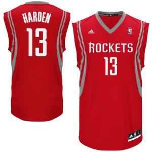 James Harden Houston Rockets adidas Preschool Replica Home Jersey - Red