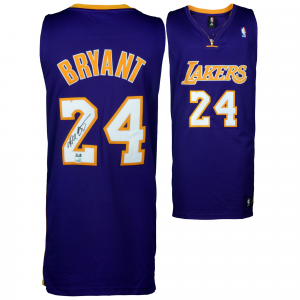 Kobe Bryant Los Angeles Lakers Autographed Purple Authentic Jersey - Panini
