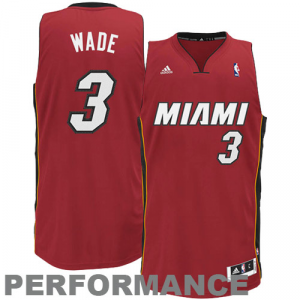 Dwyane Wade Miami Heat adidas Youth Swingman Alternate Jersey - Red
