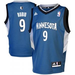 Ricky Rubio Minnesota Timberwolves adidas Preschool Replica Road Jersey - Slate Blue