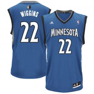 Andrew Wiggins Minnesota Timberwolves adidas Replica Road Jersey - Slate Blue