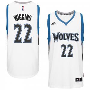 Andrew Wiggins Minnesota Timberwolves adidas Player Swingman Home Jersey - White