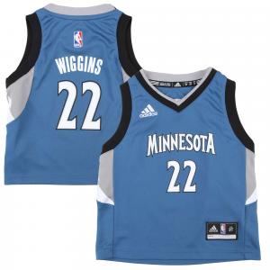 Andrew Wiggins Minnesota Timberwolves adidas Toddler Replica Jersey - Light Blue