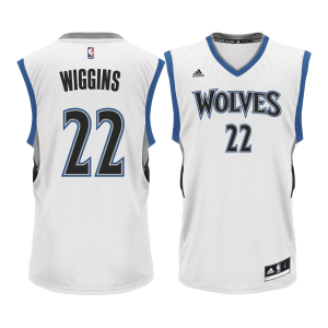 Andrew Wiggins Minnesota Timberwolves adidas Home Replica Jersey - White