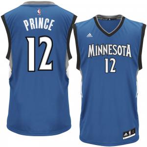 Tayshaun Prince Minnesota Timberwolves adidas Replica Jersey - Royal