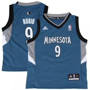 Ricky Rubio Minnesota Timberwolves adidas Toddler Replica Jersey - Slate Blue