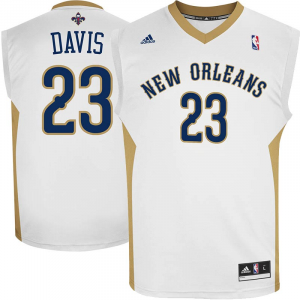 Anthony Davis New Orleans Pelicans adidas Replica Home Jersey - White