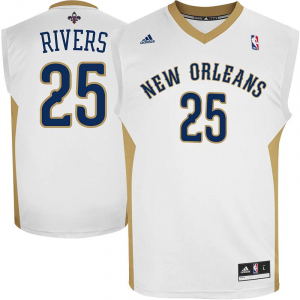 Austin Rivers New Orleans Pelicans adidas Replica Home Jersey - White