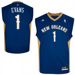 Tyreke Evans New Orleans Pelicans adidas Replica Road Jersey - Navy Blue