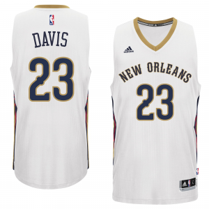 Anthony Davis New Orleans Pelicans adidas Player Swingman Home Jersey - White Home