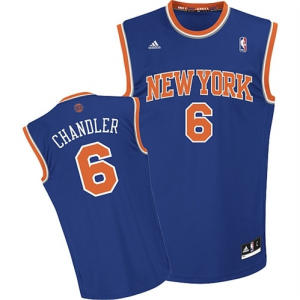 Tyson Chandler New York Knicks adidas Replica Road Jersey - Royal Blue