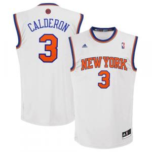 Jose Calderon New York Knicks adidas Home Replica Jersey - White