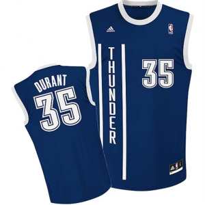 Kevin Durant Oklahoma City Thunder adidas Youth Replica Alternate Jersey - Navy Blue  -