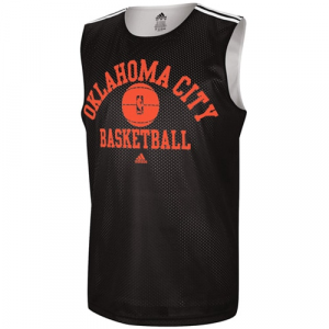 adidas Oklahoma City Thunder Mesh Jersey - Black