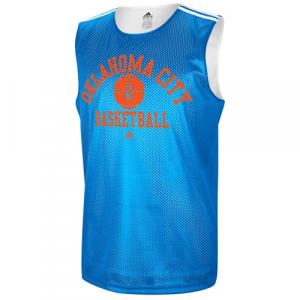 adidas Oklahoma City Thunder Mesh Jersey - Navy Blue