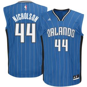 Andrew Nicholson Orlando Magic adidas Replica Jersey - Blue