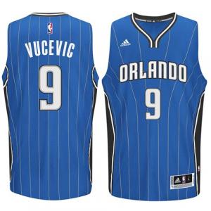 Nikola Vucevic Orlando Magic adidas Player Swingman Road Jersey - Blue