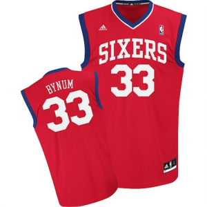 Andrew Bynum Philadelphia 76ers adidas Youth Replica Road Jersey -