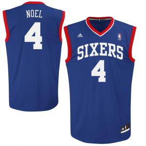Nerlens Noel Philadelphia 76ers adidas Replica Alternate Jersey - Royal Blue