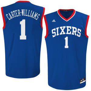 Michael Carter-Williams Philadelphia 76ers adidas Preschool Replica Jersey - Royal Blue