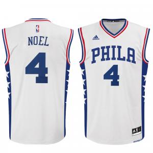 Nerlens Noel Philadelphia 76ers adidas Home Replica Jersey - White