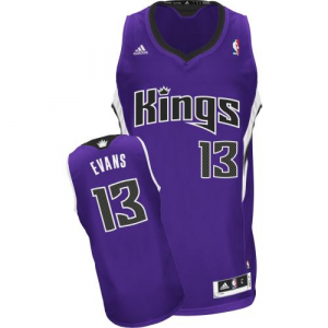 Tyreke Evans Sacramento Kings adidas Youth Swingman Away Jersey - Purple