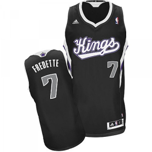 Jimmer Fredette Sacramento Kings adidas Youth Swingman Alternate Jersey - Black