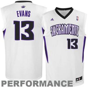 Tyreke Evans Sacramento Kings adidas Replica Home Jersey - White