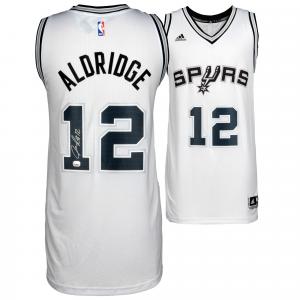 LaMarcus Aldridge San Antonio Spurs Fanatics Authentic Autographed White Swingman Jersey