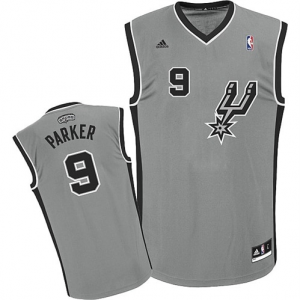 Tony Parker San Antonio Spurs adidas Youth Alternate Replica Jersey - Silver