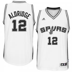 LaMarcus Aldridge San Antonio Spurs adidas Home Swingman climacool Jersey - White Home