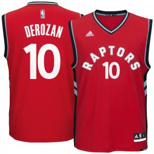 DeMar DeRozan Toronto Raptors adidas climacool Replica Jersey - Red