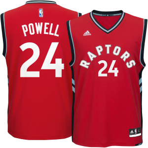 Men's Toronto Raptors Norman Powell adidas Red Replica Jersey