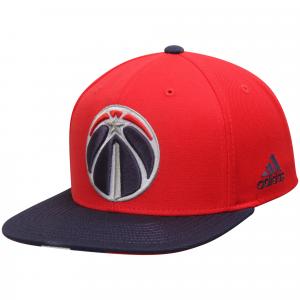 Washington Wizards adidas Pride Jersey Stripe Snapback Adjustable Hat - Red/Blue