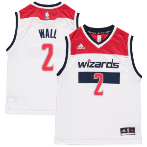John Wall Washington Wizards adidas Youth Replica Home Jersey - White